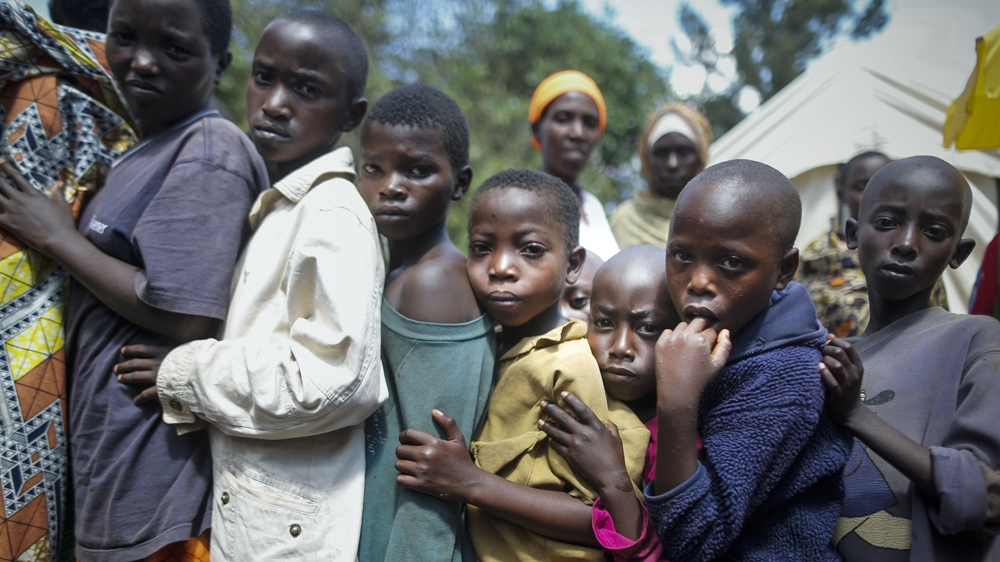 Of Burundi's more than 250,000 refugees, most are young women and children [Dai Kurokawa/EPA]
