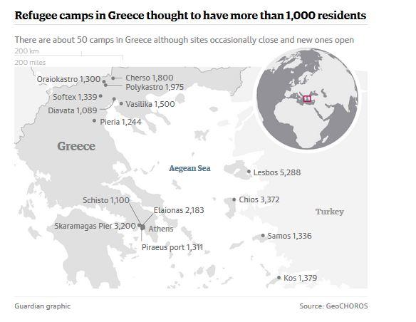 Greece Refugee Camps