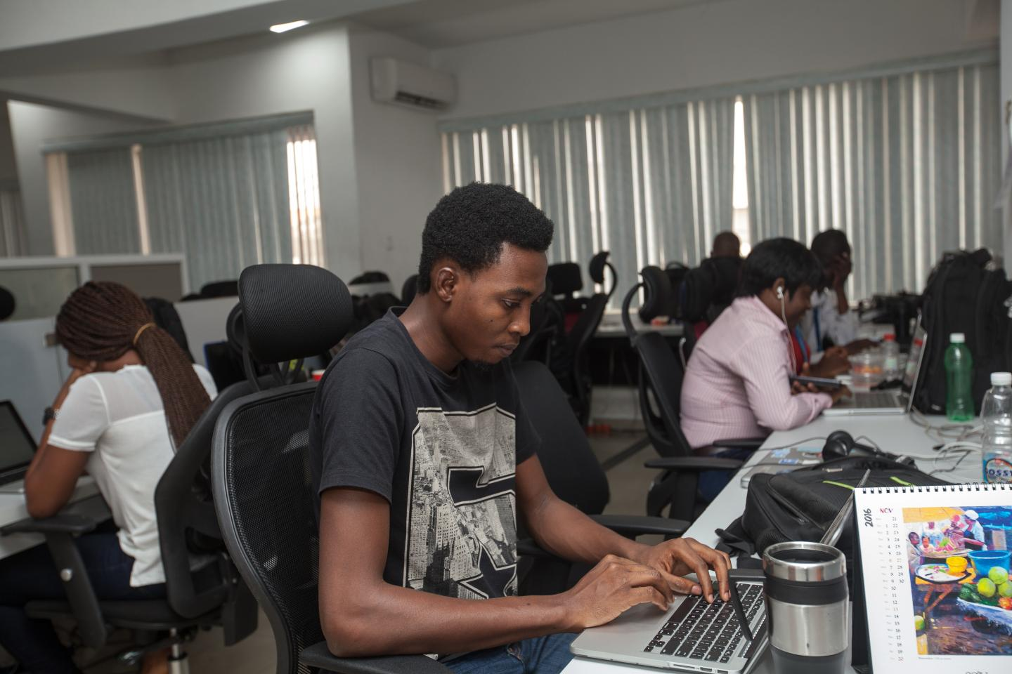 The technology sector in Nigeria, which has the continent's biggest population and one of its strongest economies, is generating significant investment from venture capital firms both inside and outside Africa. Photo: ADEOLA OLAGUNJU