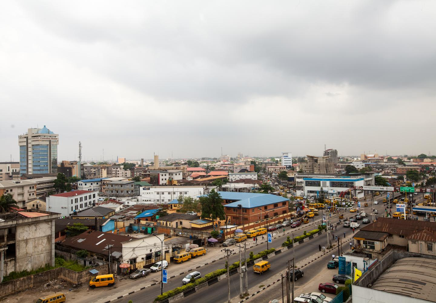 The Yaba district of Lagos, Nigeria's biggest city, has served as a hub for the West African country's budding tech and startup scene. Photo: ADEOLA OLAGUNJU