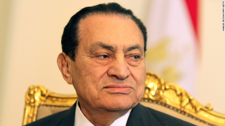 Hosni Mubarak, here in 2011, was forced to step down as Egypt's leader during the Arab Spring.