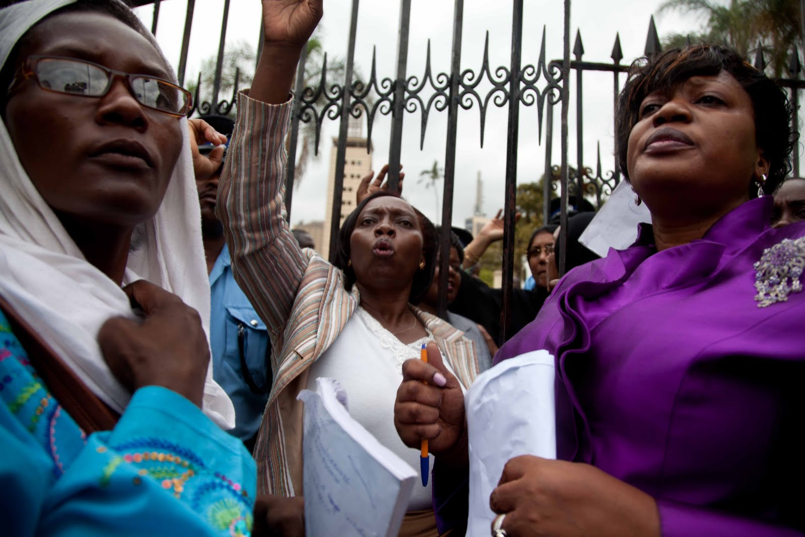 women march, kenya