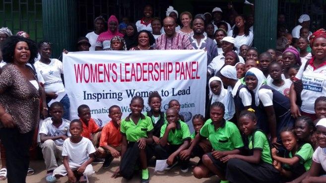 women leadership liberia