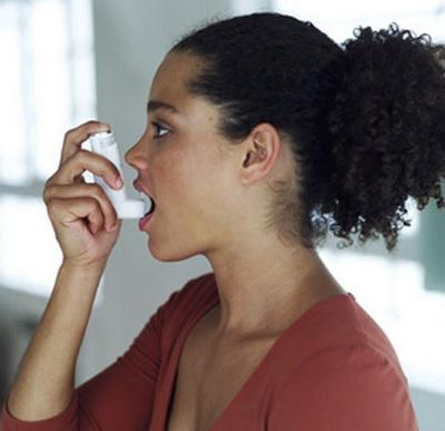 Asthma Woman