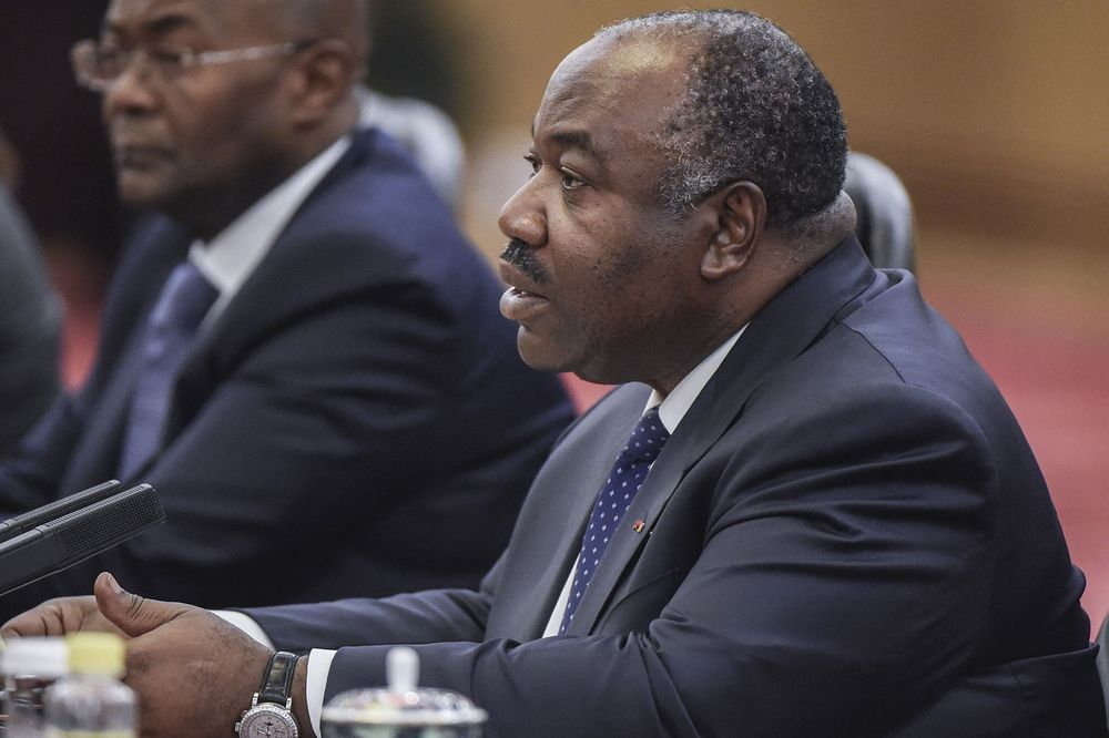 Gabon's President Ali Bongo Ondimba. Photographer: FRED DUFOUR/AP Photo