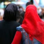 (GERMANY OUT) Germany Berlin - muslim women with headscarfs - 11.06.2011  (Photo by M?ller-Stauffenberg/ullstein bild via Getty Images)