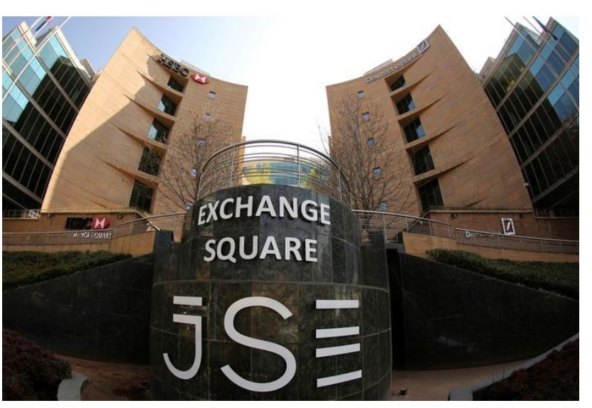 A general view of the Johannesburg Stock Exchange building in Sandton, August 13, 2014.