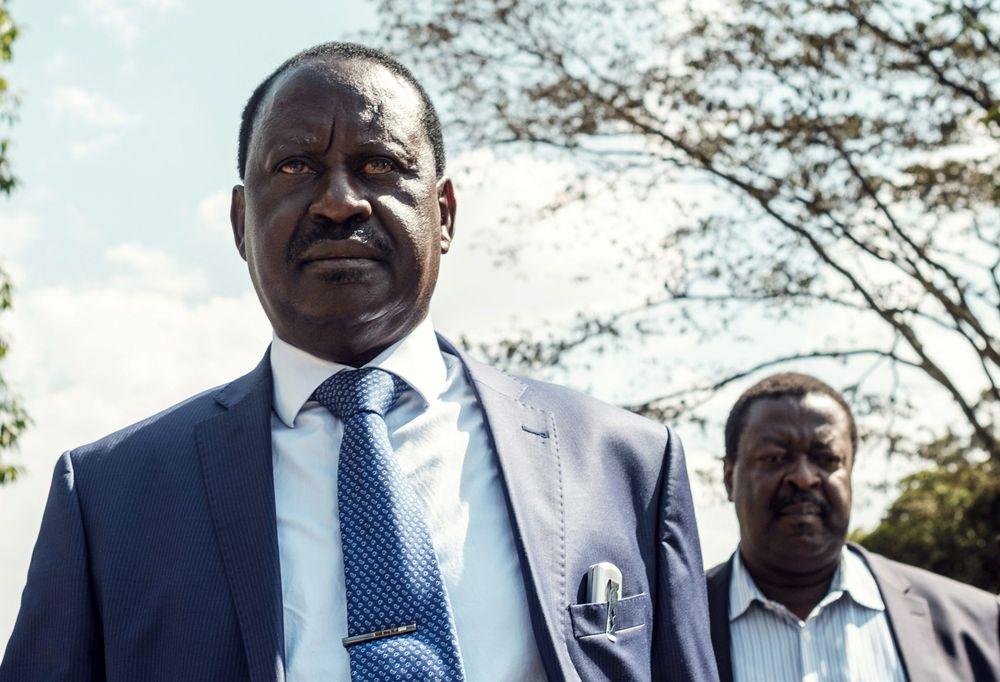 Raila Odinga Photo: Yasuyoshi Chiba/AFP via Getty Images