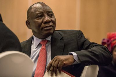 Cyril Ramaphosa GULSHAN KHAN/AFP/Getty Images
