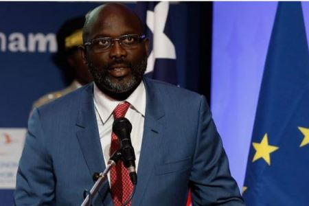 President George Weah Seeks Paris Aid to Jumpstart Government