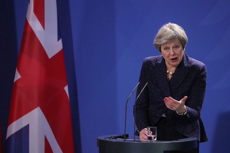 Theresa May Photographer: Krisztian Bocsi/Bloomberg