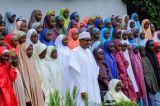 Buhari Meets Released Dapchi Schoolgirls