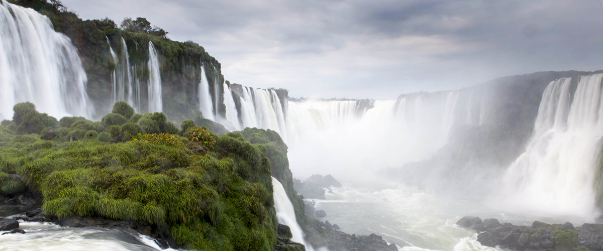 A view of Iguazu Falls, on the border between Brazil and Argentina. UN Photo/Mark Garten