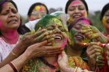 Women And The Festival Of Colour In India