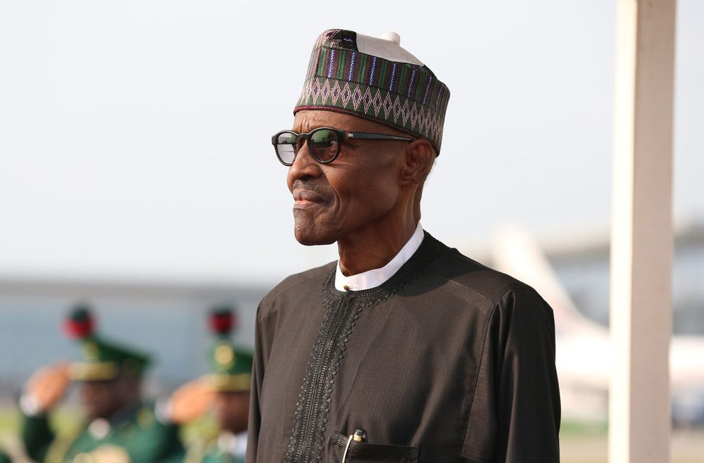 Mohammadu Buhari. Photographer: Sunday Aghaeze/AFP via Getty Images
