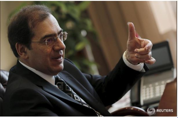 Tarek El Molla, Egypt's Minister of Petroleum and Mineral Resources . REUTERS/Amr Abdallah Dalsh