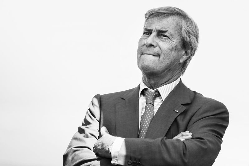 Vincent Bollore Photographer: Zakaria Abdelkafi/AFP via Getty Images