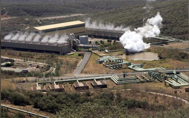 A general view shows a cross-section of the Olkaria IV Geothermal power plant near the Rift Valley town of Naivasha, Kenya February 15, 2018. REUTERS/Thomas Mukoya