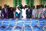 President Weah Donates To Muslims