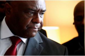 Congolese opposition leader and former warlord Jean-Pierre Bemba is pictured after a news conference in Brussels, Belgium July 24, 2018. REUTERS/Francois Lenoir