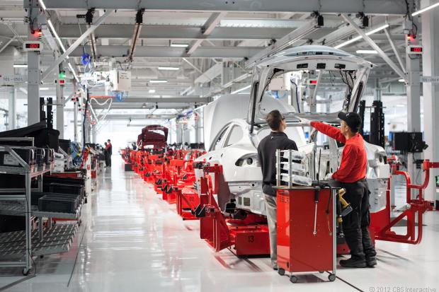 Tesla-Fremont-Factory