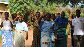 Ntaja Women Celebrate Independence Day By Cheering The Sick