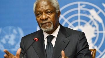 Kofi Annan, The Former United Nations Secretary-General, Dead At 80