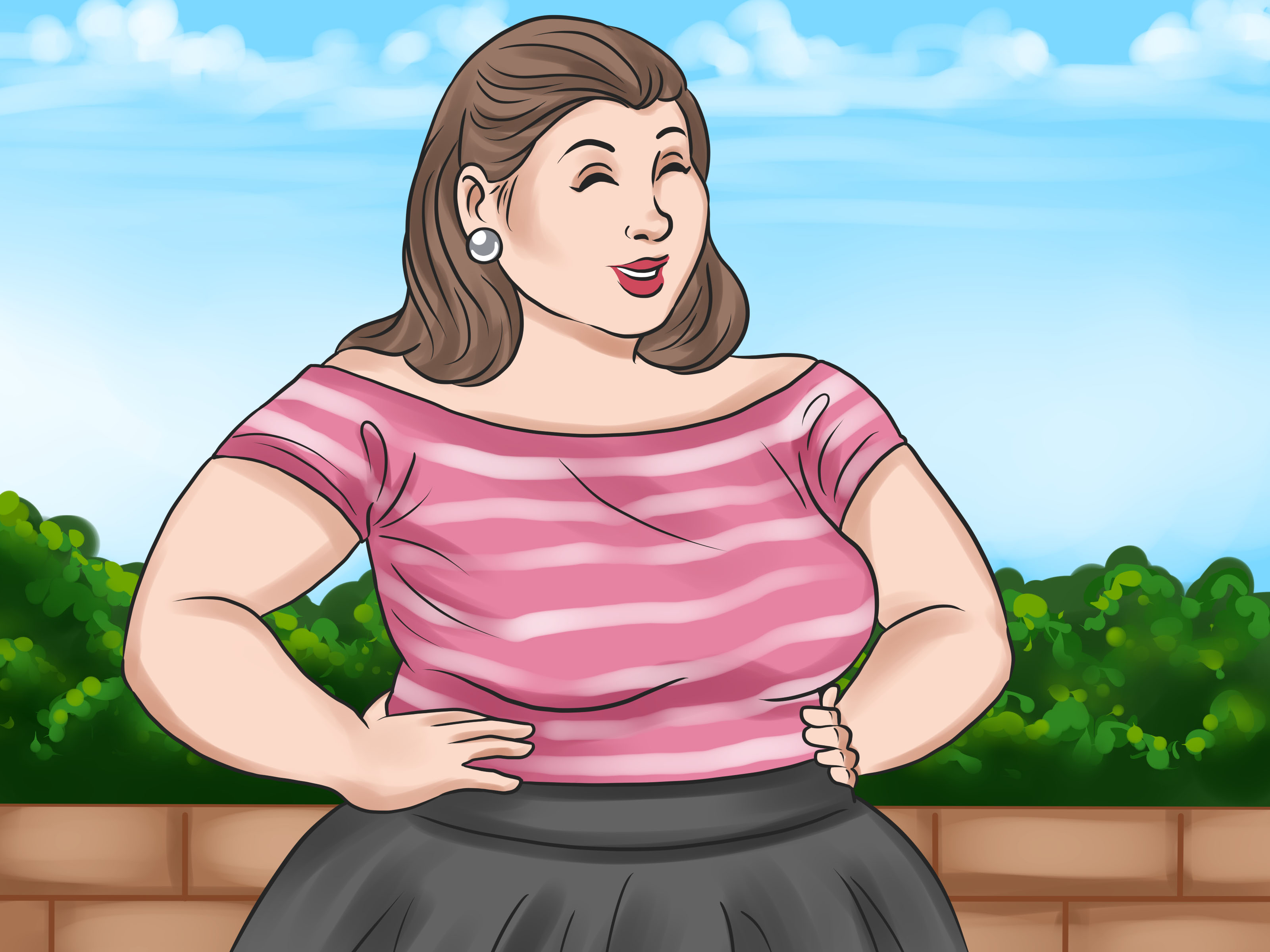 Look-Gorgeous-As-a-Heavily-Obese-Girl-Step-19