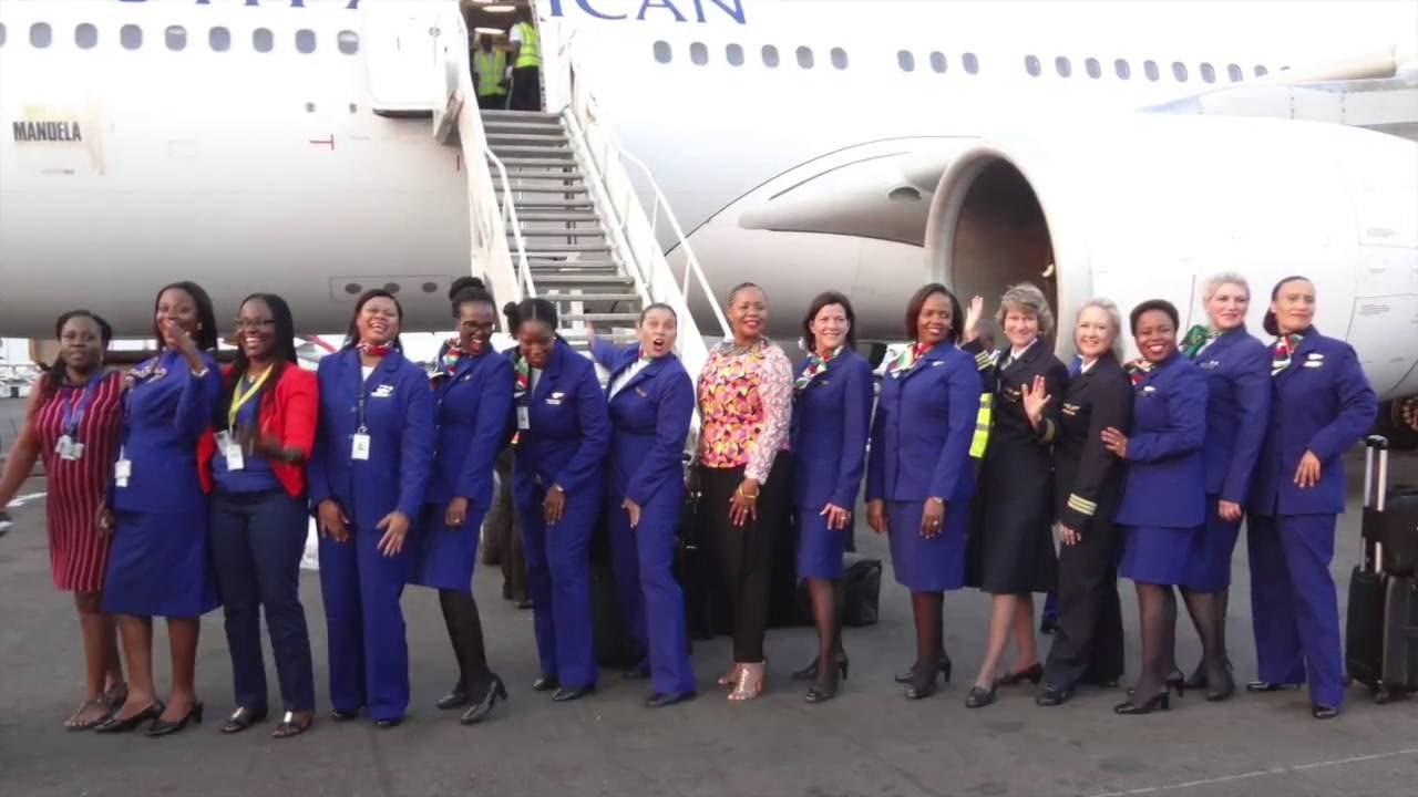 all female crew
