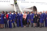 The All Female Crew Of South African Airways
