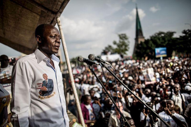 Jean-Marie Michel Mokoko.   Photographer: Marco Longari/AFP via Getty Images