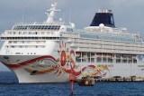 Norwegian Cruise Line Ship Crashes Into Port In San Juan, Puerto Rico