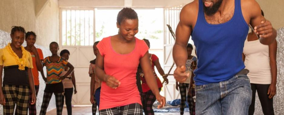 Bolewa Sabourin Promotes Dance Therapy For Victims Of Sexual Violence In DRC