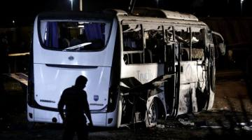 At Least 17 Hurt As Tourist Bus Gets Hit By Explosion
