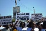 Women Protest In Defense Of Jane Ansah In Malawi