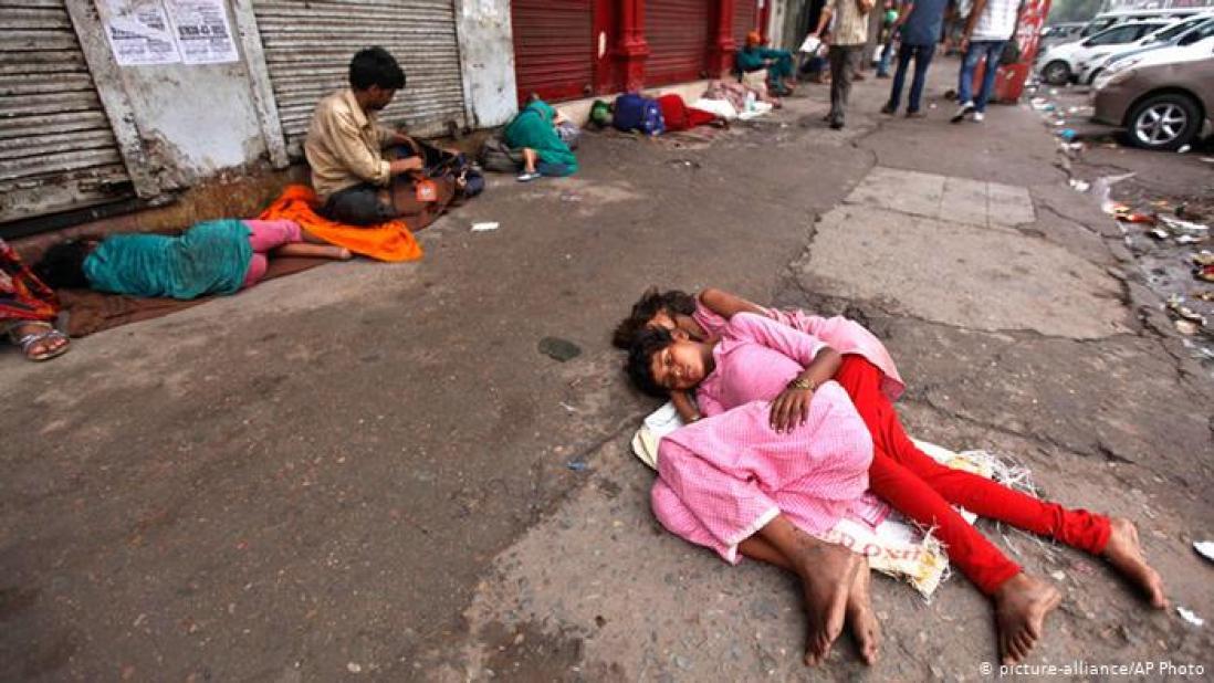 india homeless