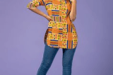 10 Stylish Ankara Tops For Ladies