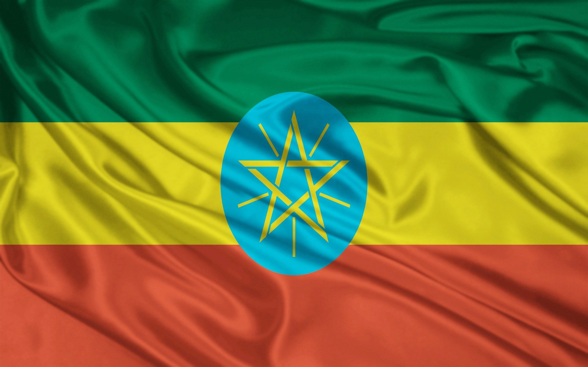 Ethiopia Falg