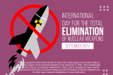 International Day For The Elimination Of Nuclear Weapons