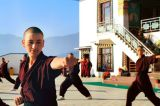 'Kung Fu nuns' Deliver Aid, Health Advice In pandemic-Hit Himalayas