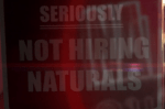 not hiring naturals
