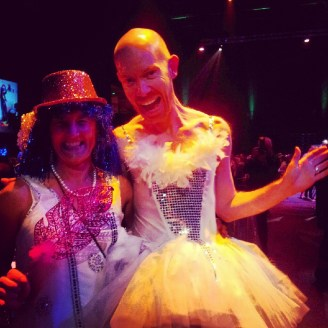 """ulearn13 conference dinner delegates - theme """"all that glitters"""""""