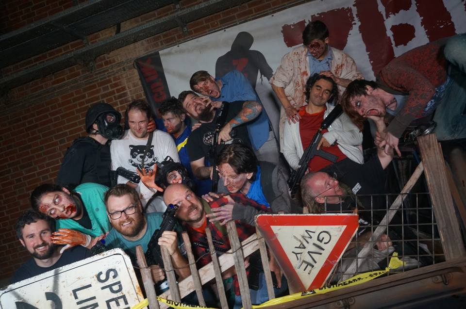 Bucket list item 32: Go on a zombie experience day