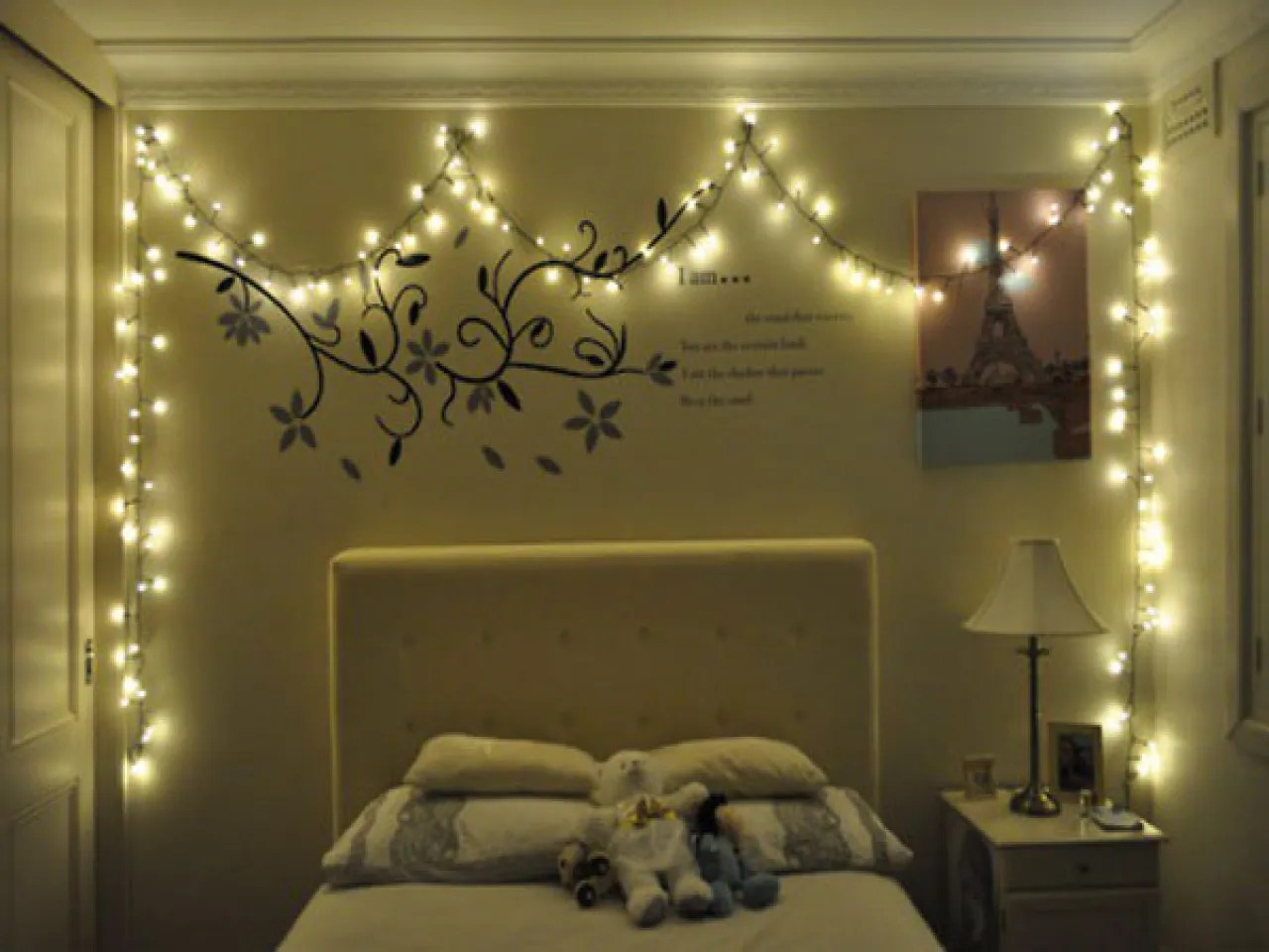Bedroom Ideas With Christmas Lights Memsaheb Net Part 50