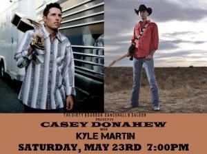 Casey Donahew w/ Kyle Martin