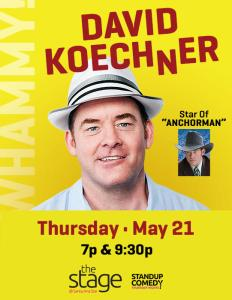 DAVID KOECHNER - STANDUP COMEDY