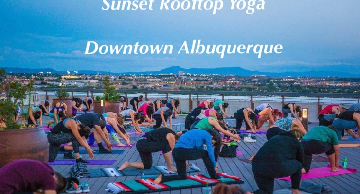 Tranquil Thursdays- Rooftop Yoga with Gunz and Poses By: Adrianna Vigil