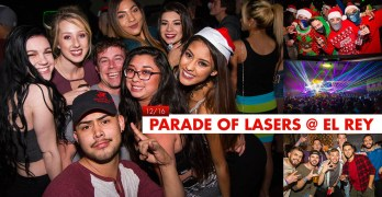 Parade of Lasers at El Rey Theater 2016
