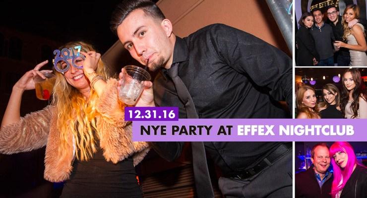 NYE party at Effex Nightclub – photos