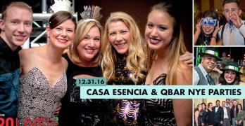NYE BASH at Casa Esencia and Q Bar
